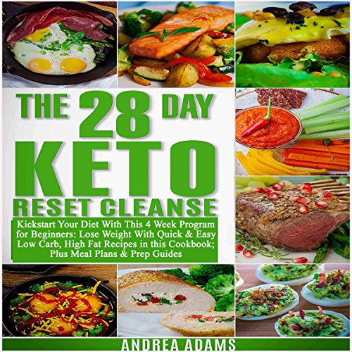 The 28-Day Keto Reset Cleanse audiobook cover art