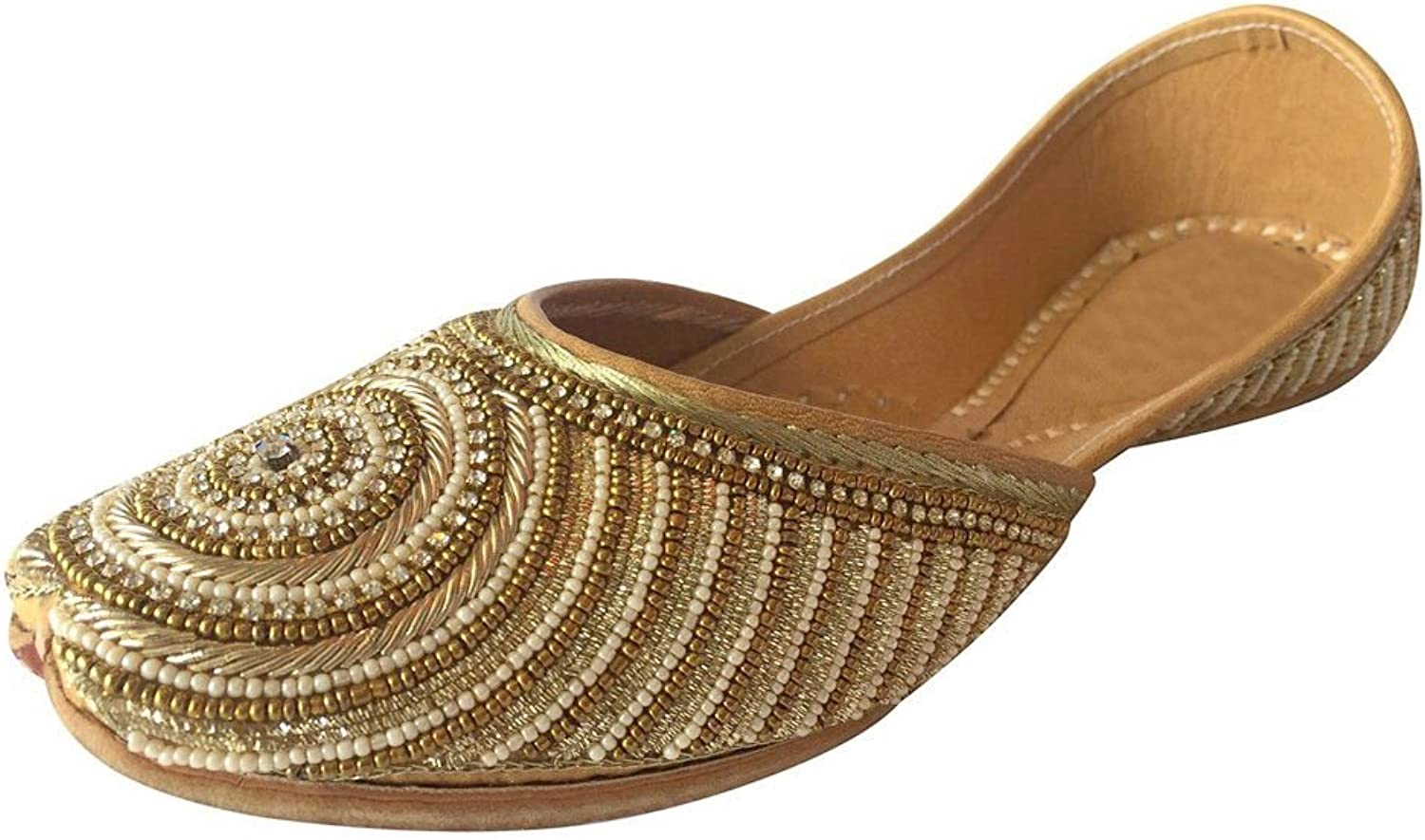 Step n Style Ladies Flat Jutti Ehhnic Handmade shoes Indian shoes Saree Slippers Juti