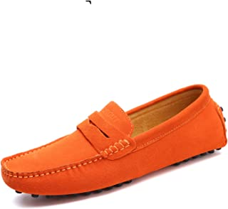 80d7c1230f97f Carol Chambers Summer Style Soft Moccasins Men Loafers Genuine Leather Shoes  Men Flats Gommino Driving Shoes