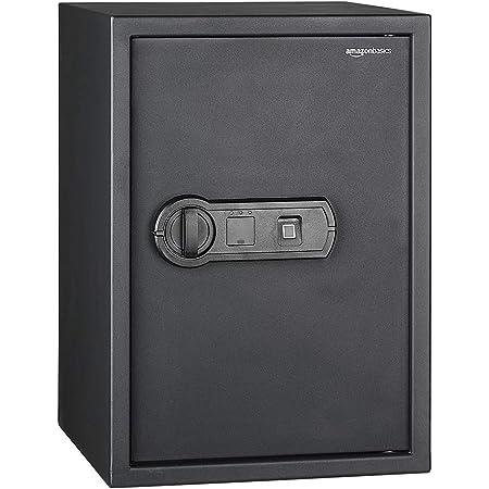 Amazon Basics Coffre-fort biométrique à empreintes digitales - 50 l