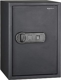 comprar comparacion AmazonBasics - Caja fuerte con lector biométrico de huella dactilar - 50 l