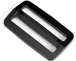 Strapworks Black Plastic Tri-Glide Slide – for Bag Straps, Rifle Slings, Dog Collars - 2 Inch