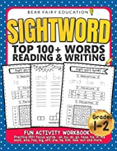 Sightword Top 100+ Words Reading & Writing, 1st 2nd Grade Activity Workbook: 1st Grade Writing Book, 1st Grade Spelling Book