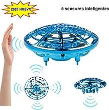 Innoo Tech Mini Drone para niños Flying Toy RC Juguetes UFO helicóptero 360°Rotación Libre con Luces LED Regalos para niños