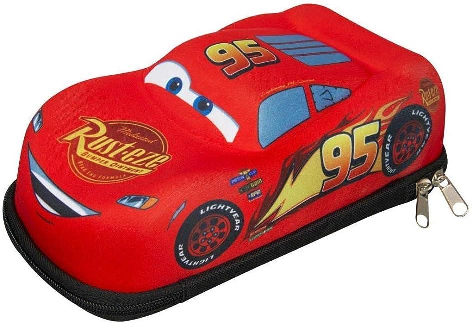 反抗粘性の寄生虫Disney (ディズニー) Cars カーズ 筆箱 筆入れ ペンケース たっぷり収納