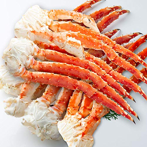 さっぽろ朝市 高水 タラバガニ 脚 大型ボイルたらば蟹 足 計4.0kg (800g×5肩) フルシェイプ