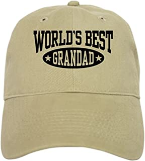 CafePress World's Best Grandad Cap Baseball Cap