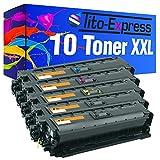 PlatinumSerie 10cartucce toner XXL per HP CF360X-cf363X 508X MFP M577F Flow MFP M577C