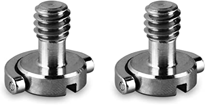 ChromLives 1/4'' D-Ring Camera Quick Release Screw Tripod Screw Adapter Connecter DSLR Camera Rig Accessories- 2 Pack