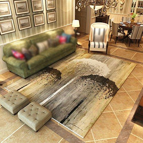 Creative Light Tapis Modernes Canapé Table à café Tapis Salon Carpet Chambre Rectangle de Chevet Tapis à la Maison (Taille : 140cm*200cm)