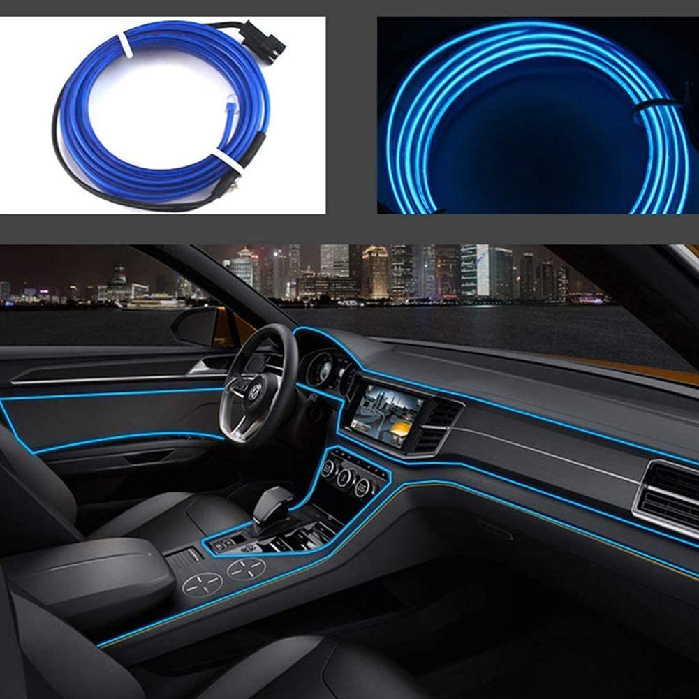 2M 6FT San Diego Mall USB Neon EL Wire Electrolumin High Brightness Lights Financial sales sale Cold