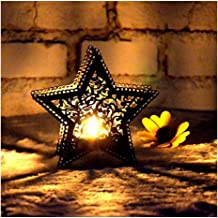 NXYCXXJS LED Candle Holder Lamp Holder Garden Terrace Decoration Starry Sky Bedroom Decoration Photo Props