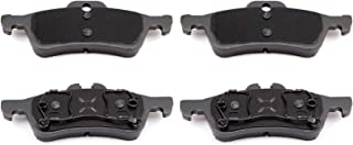 SCITOO Ceramic Discs Brake Pads, 4pcs Rear Brake Pads Brakes Kits fit 2002 2003 2004 2005 2006 2007 2008 Mini Cooper Compatible 308.10600/EHT1060 D1060-7842