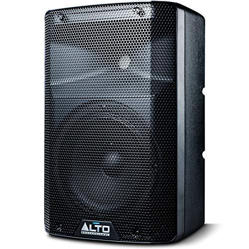 ALTO Professional TX208 – Altavoz Autoamplificado de 2 Vías, 8 Pulgadas y 300 W con Crossover Activo, Conectividad para una Óptima Funcionalidad y Limitador Analógico Integrado