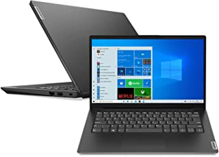 "Notebook Lenovo V14 i5-1135G7 8GB 256SSD Intel Iris Xe Graphics Win 10 Home 14"" HD 82NM000EBR Preto"