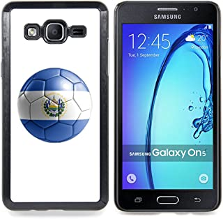 STPlus 厄瓜多尔足球旗帜硬质手机壳适用于三星 Galaxy On5 El Salvador