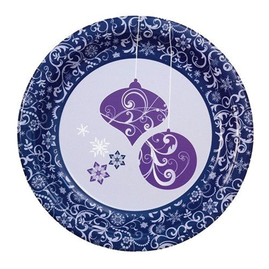 Sigel 228 x 228 x 15mm Christmas Plates - Violet Dream (Pack of 10)