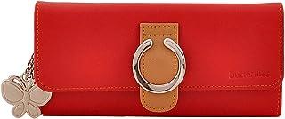 Butterflies Red Women's Wallet (BNS 2223)