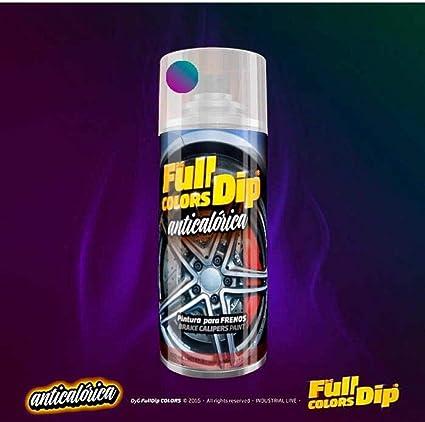 Autofullcar Spray Pintura Para Pinzas De Freno Anticalórica Acrílica Permanente Fullcolors By Full Dip Camaleón Amazon Es Coche Y Moto