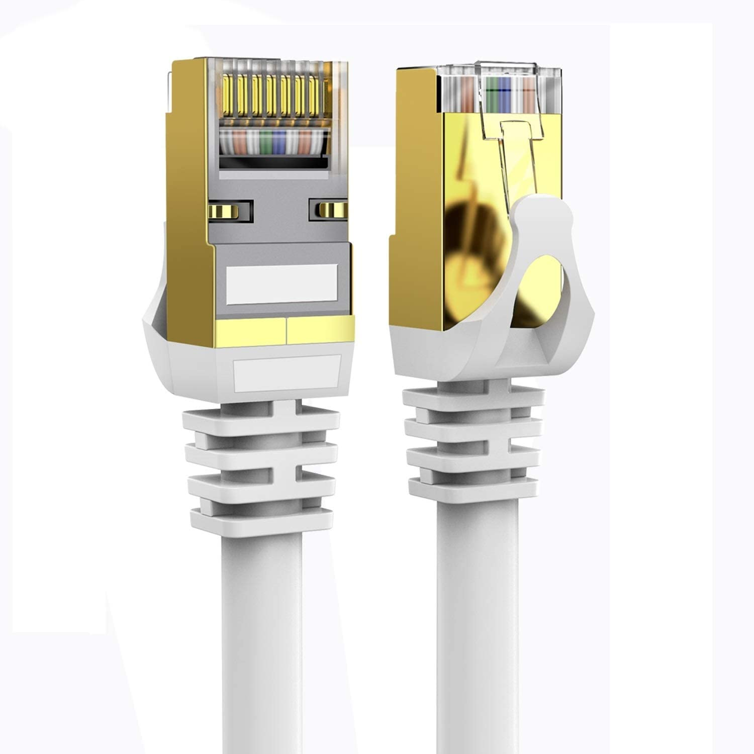 Cat 8 Ethernet Cable 50 ft 40Gbps 2021new shipping free Shielded Lastest Store 26AWG 2000Mh