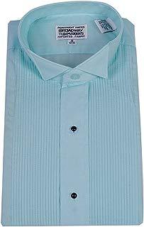 Mens Aqua Blue Tuxedo Shirt