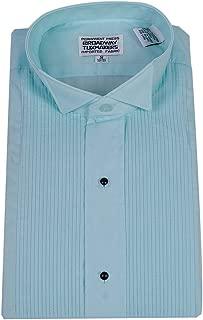 Broadway Tuxmakers Mens Aqua Blue Tuxedo Shirt