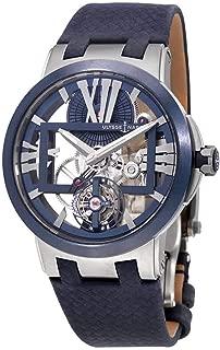 Ulysse Nardin Executive Skeleton Tourbillon Men's Hand Wound Watch 1713-139/43