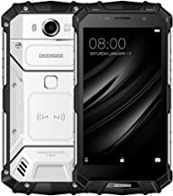 Unlocked Cell Phones, DOOGEE S60 4G Rugged Smartphone Unlocked Android 7.0-5580mAh Battery - 5.2'' FHD Screen - IP68 Waterproof Dustproof Shockproof - 6GB RAM + 64GB ROM - 21MP Camera - Silver