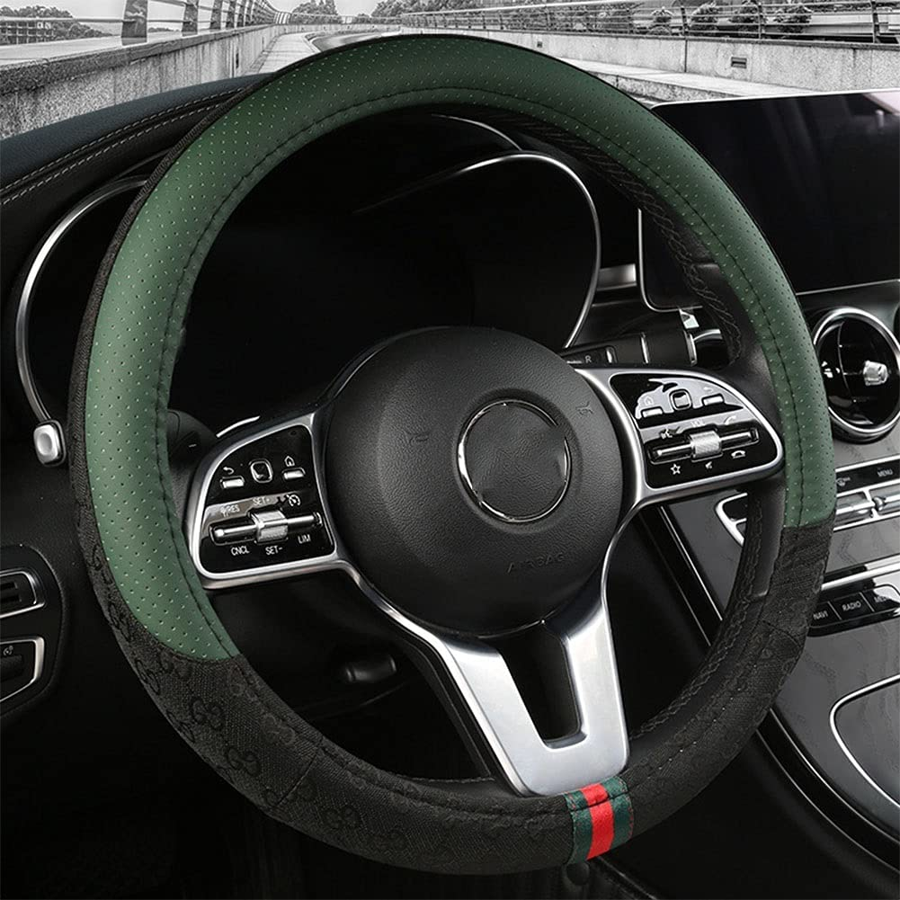Car Steering Wheel Cover Four-season Same day shipping Sweat-ab Courier shipping free shipping Universal Non-slip