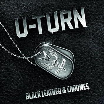 Black Leather & Chromes