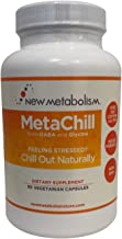 MetaChill by Celebrity Nutritionist Derek Johnson | A Synergistic GABA Formula Being Called Nature's Xanax | Reduce Stress, Anxiety Relief, Mood Enhancer | Keep Calm and Take A Chill Pill