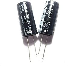 FidgetGear 5PCS 450V 120uF 450Volt 120MFD Electrolytic Capacitor 18mm×35mm