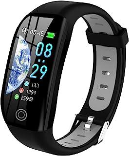 Tipmant Smartwatch, Relojes Inteligentes Mujer Hombre Niños Impermeable IP68 Pulsera Actividad Inteligente con Pulsómetro ...
