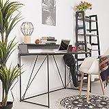 Selsey Schreibtisch, Schwarz, 60 x123 x 76 cm