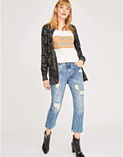 CALCA JEANS CROPPED PUIDA