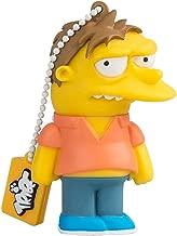 Tribe FD003407 The Simpsons Springfield Pendrive Figure 8 GB Funny USB Flash Drive 2.0 Memory Stick Data Storage, Keyholder Key Ring, Barney, Yellow