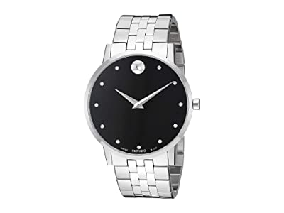 Movado Museum Classic 0607201 (Black/Silver) Watches