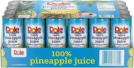 Dole Juice, 100% Pineapple, 8.4oz, 24 cans