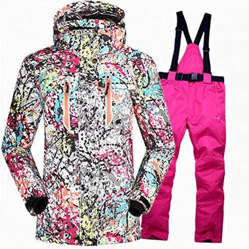 MQAIFEKS Super Warm snowboarden pakken voor meisjes skiën sets Waterdichte ski pak vrouwen ski winter jas snowboard broek