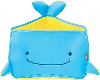 Skip Hop Moby Bath Toy Organizer For Babies And Toddlers, Corner Bath Tub Storage, Blue