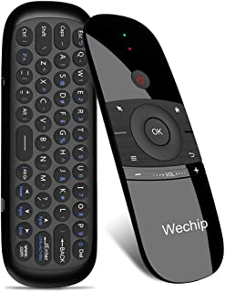 Wechip W1 2.4G air Mouse Wireless Keyboard Remote Control Infrared Remote Learning 6-axis Motion Sense w/USB Receiver for ...