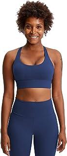 Women Sports Yoga Bras, Shockproof Comfort Workout Yoga Bra for Running,Blue,4