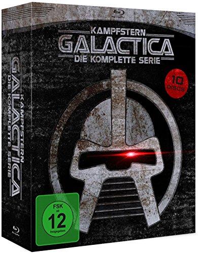 Kampfstern Galactica - Die komplette Serie (+DVD) [9 Blu-rays] (exklusiv bei Amazon.de)