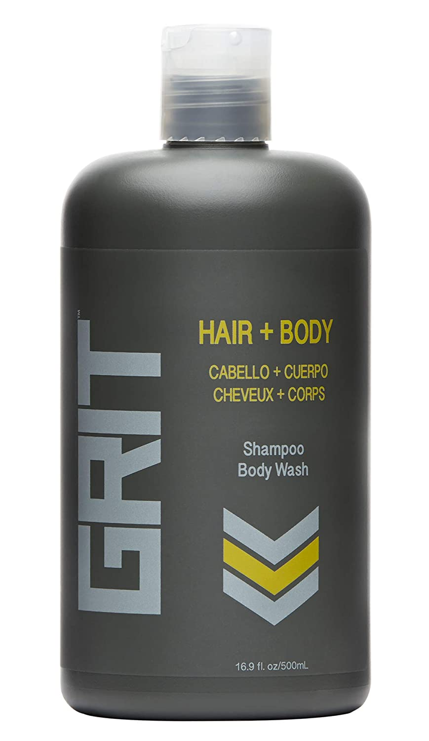 In a popularity Japan Maker New GRIT Hair Body 16.9oz Shampoo 3-in-1 Conditioner Wa