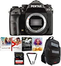 Pentax K-1 Mark II DSLR Camera (Body Only) w/ 64GB Extreme PRO SD Card + Pentax Slingbag & Deluxe Photo Software Kit