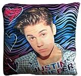 Bravado Justin Bieber Multi-Color Zebra Decorative Cushion