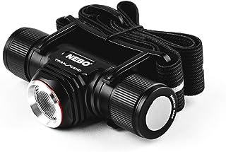 NEBO Transcend 1000-Lumen Headlamp Flashlight: 5 Mode Rechargeable LED Head Lamp; 1,000 Lumen Turbo function; adjustable r...