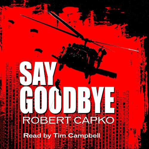 Say Goodbye audiobook cover art