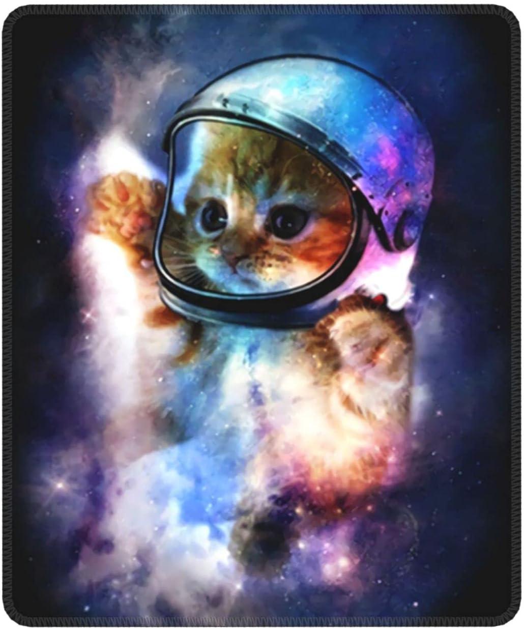 Jsragt Astronaut Cat Mouse famous Pad Computer service Non-Slip M Base Rubber