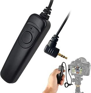 AnFun C6 Wired Shutter Remote Control Cable Shutter Release Cord for Canon Pentax Fujifilm Contax Sigma Cameras Replaces Remote Cord RS-60E3 Remote Commander Trigger Release Cable
